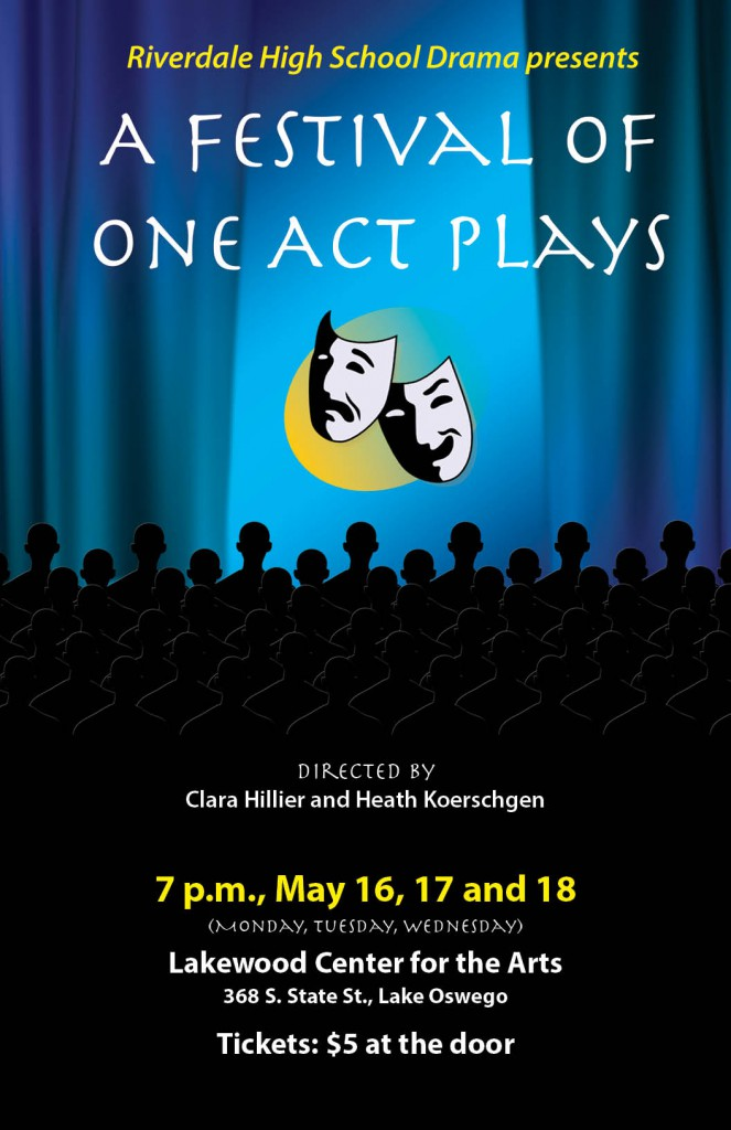 2016 RHS One Act Plays Festival_Poster_FINAL_web